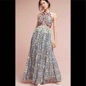 ANTHROPOLOGIE Adelise Bhanuni Jyoti Maxi Dress
